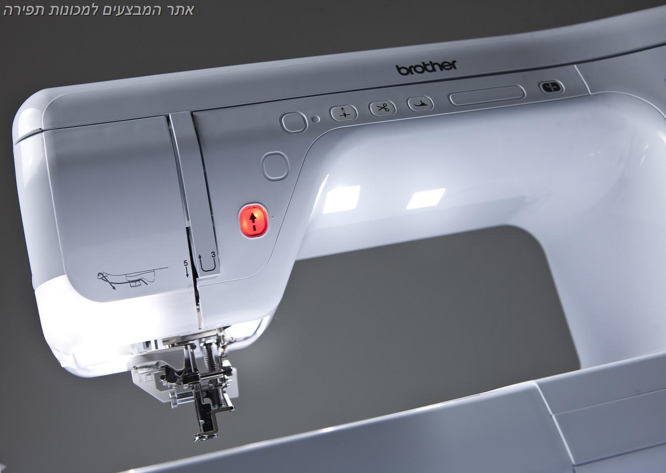 """מכונת רקמה ממוחשבת ברדר דגם V3 מקצועית ומהירות 1050 תל""""ד!"""