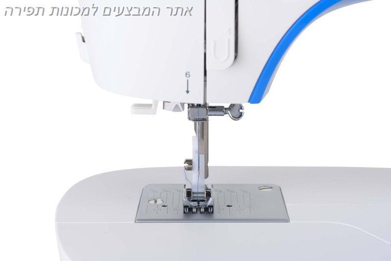 מכונת תפירה זינגר דגם 3205 עם אחריות בארץ וחשמל ישראלי 220V אספקה מיידית