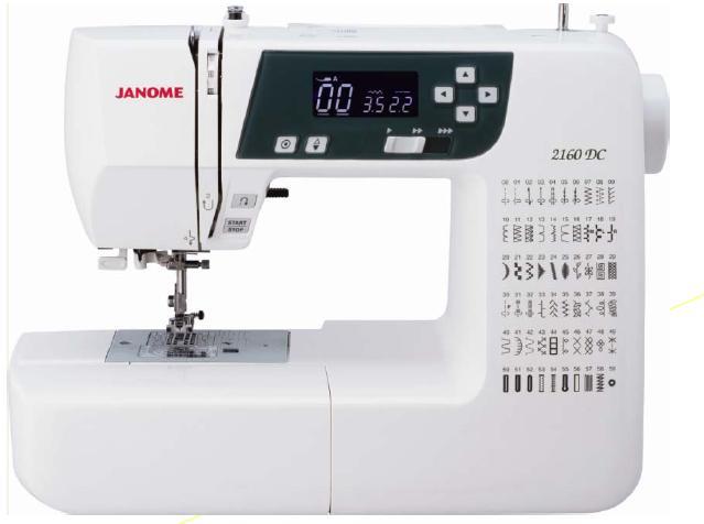 מכונת תפירה אלקטרונית תוצרת ינומה - יפן דגם 2160- הייצור הופסק! הדגם החדש הוא 2030