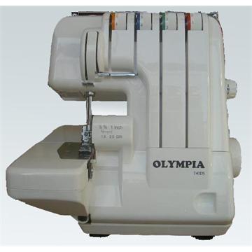 אוברלוק ביתי 3 ו- 4 חוטים תוצרת אולימפיה דגם 740 לשנת 2021!