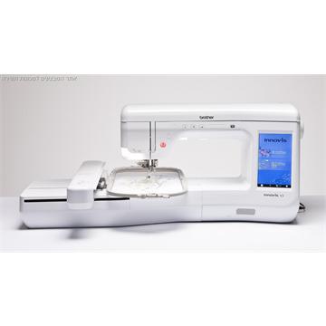 מכונת רקמה ממוחשבת ברדר דגם V3 מקצועית ומהירות 1050 תל