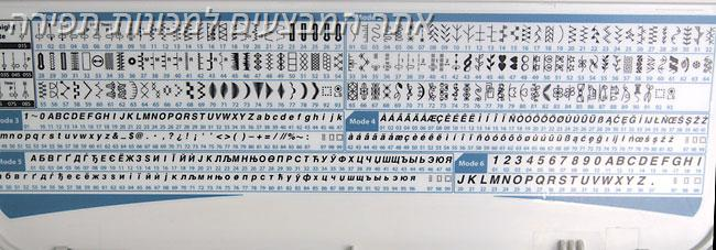 """מכונת התפירה ינומה-יפן לקווילטינג זיגזג 9 מ""""מ דגם  SKYLINE S5"""